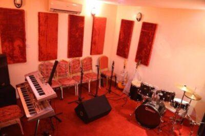 , Nigerian Singer, Kcee Shares Photo Of Five Star Music Rehearsal Studio