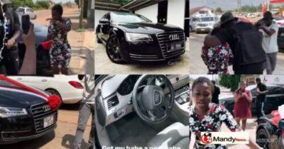 Medikal Buys Fella Makafui A Brand New Audi After Ex-boyfriend Seized Her 2 Cars
