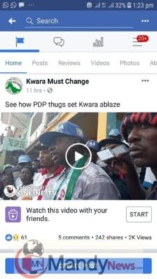Video Of Victim Of Suspected PDP Thugs Attack In Kwara (Graphic)