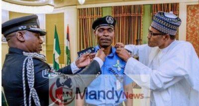 Buhari Decorates New Police IG With New Rank (Photos)