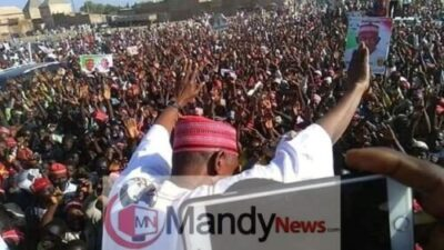 Pictures From PDP Campaign In Wudil Local Government, Kano State
