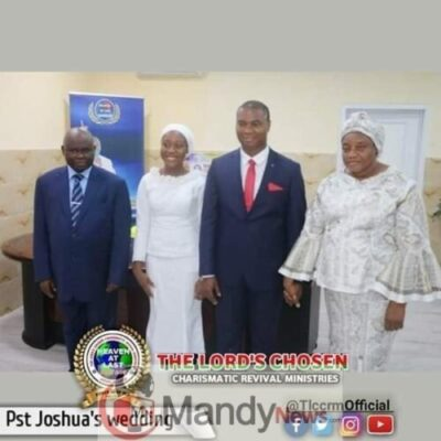 Lord Chosen Pastor Lazarus Muoka's First Son Weds (Photos)