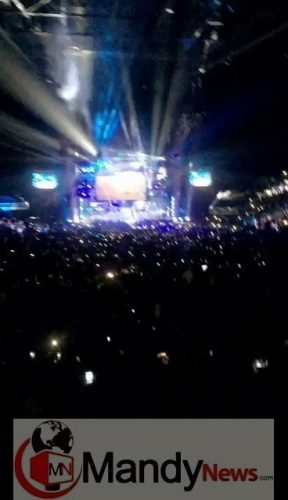 "Davido Performs ""Aye"" Live At 02 Arena Concert In London (Video)"