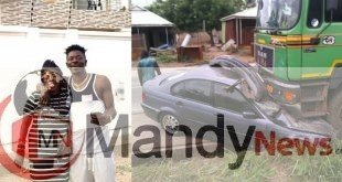 Shatta Wale's Mother Involved In An Accident (Photos)