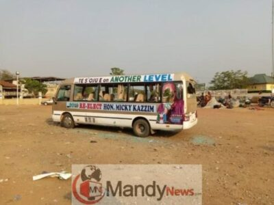 Bus Crushes A Man's Leg In Ogun State (Viewers' Discretion Advised)