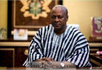 Former Ghanaian's President, John Mahama Welcomes First Grandchild