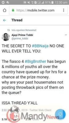 The Secret To #BBNaija No One Will Ever Tell You By Ajayi Tobbi