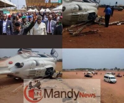 Helicopter Company Issues Statement On VP Osinbajo's Crash