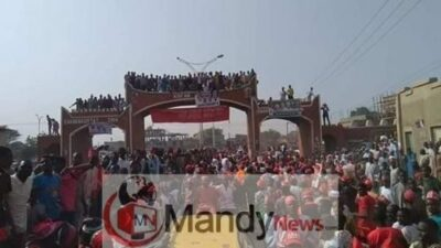 8665432 fbimg1549212740232 jpeg92dd55f6b6b7c4a1f29e6b4191897df4 - See Massive Crowd That Welcomed Kwankwaso In Dala Local Government In Kano (Photos)