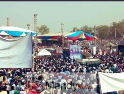 Buhari's Presidential Campaign Rally In Adamawa