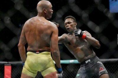 Nigeria Fighter, Isreal Adesanya Defeats His Mentor, Anderson Silva