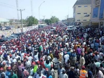 Photos From Outside Sani Abacha Stadium As Atiku Campaigns In Kano