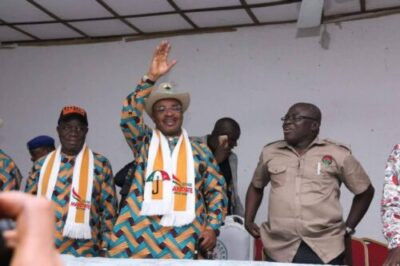NLC, TUC, ULC Adopts Udom Emmanuel As Sole Candidate (Pictures)