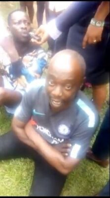 Police Parade Native Doctor, Men Who Tortured Lady Over Missing IPhone (Photos)