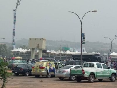 Presidential Rally: See People Arrested With Jazz In Abeokuta, Ogun State