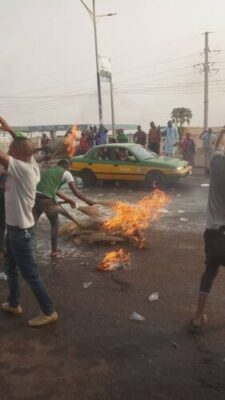 """APC Presidential Rally: Ilorin Residents Reject Buhari, Sweeps Off """"Bad Luck"""""""