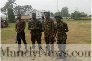 Fake Soldiers Escorting Politician In Imo Arrested (Photo)