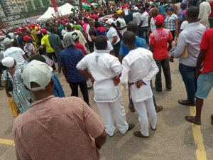 The Momentum Is Gathering Already For Atiku's Lagos Rally (Photos)