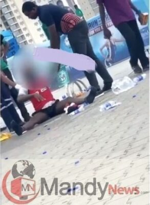 Shock As Participant Runs Mad In Broad Daylight At The 2019 Lagos City Marathon (Video)