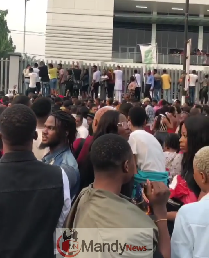 2019 BBNaija Lagos Audition Sold Out As Crowds Flood Venue (Photo, Video)