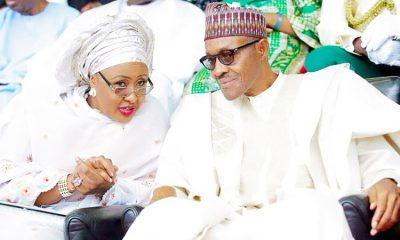 President-Muhammadu-Buhari-and-his-wife-Aisha-750x470