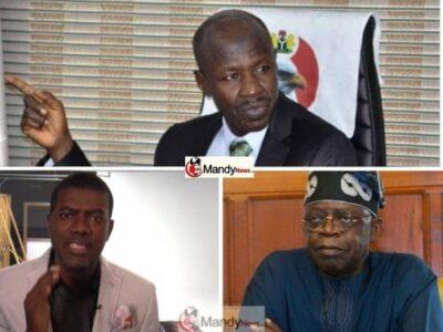 Reno Omokri, Tinubu and Magu (Efcc Chairman)