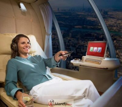 , Emirates Introducing Chauffeur-Less Drones With First Class Suites (April Fools)