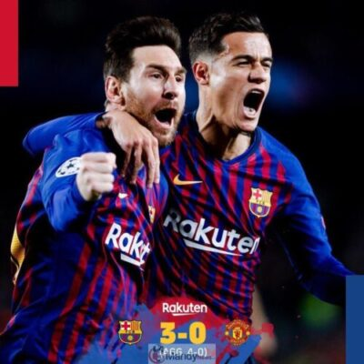 Lionel Messi and Coutinho