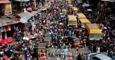 Nigeria's population hits 201 million.