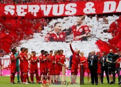 Franck Ribery and Arjen Robben break down in tears ahead of final Bayern