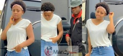 Actress-Regina-Daniels-Poses-With-Her-Armed-Bodyguard