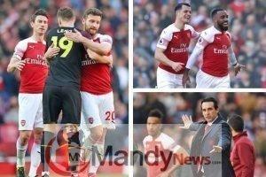 Arsenal news Unai Emery Southampton Bernd Leno Granit Xhaka