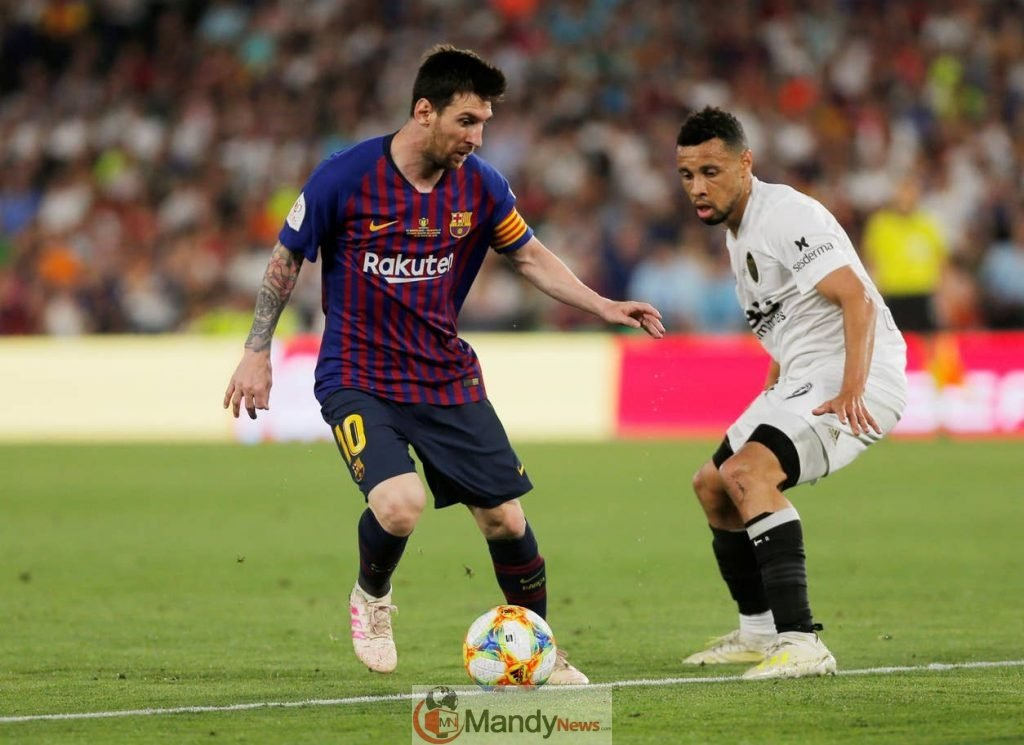 Copa del Rey Final Messi