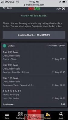, Bet9ja Sure Winning Games For Today Friday, 31 May 2019