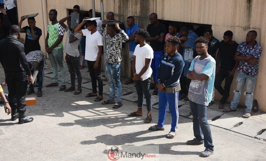 EFCC Arrests Internet Fraudsters In Abuja