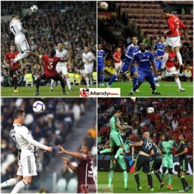Ronaldo Scores The 100th Headed Goal Of His Career