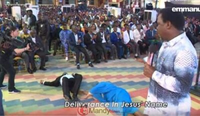 TB JOSHUA PROPHECY CAUSES COUPLE TO COLLAPSE