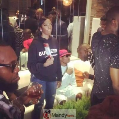 Wizkid-and-Tiwa-Savage-spotted-at-Patorankings-listening-party