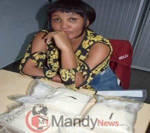 kenyan lady caught with in abuja