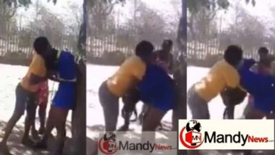 , Student Beaten By Three Ladies For Dating A Married Man (Video)