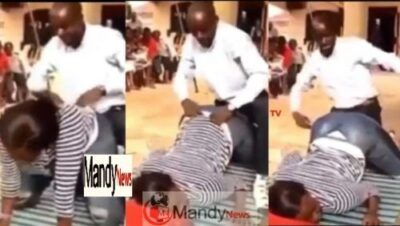 Pastor Demonstration doggy style 696x392 - Pastor Demonstrates To Church Members How Best To Give Doggy Style (Pics,Video)