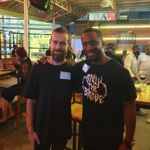 Darey Art Alade Pictured With Twitter CEO Jack Dorsey