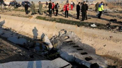 Boeing 737 carrying at least 170 crashes in Iran