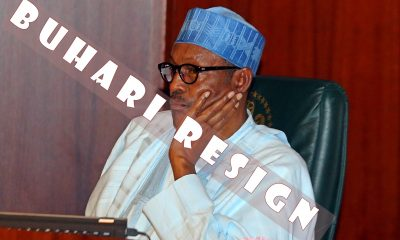 President Buhari Announces Resignation