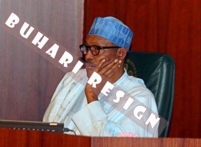 President Buhari Announces Resignation