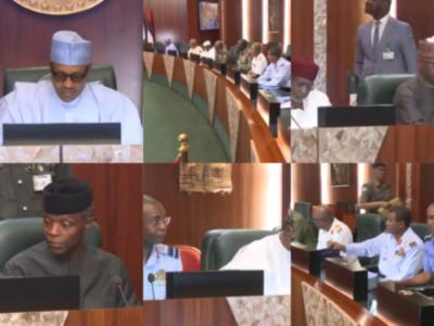 Buhari-security-meeting