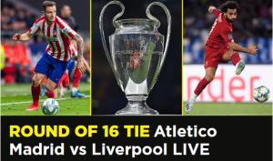 Atletico Madrid vs Liverpool LIVE