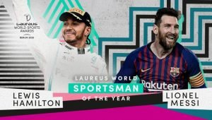 Lewis Hamilton and Lionel Messi Jointly Win the Laureus