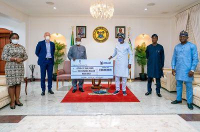 StandingwithNigeriaAgainstCOVID19NigerianBreweriesPlcAnnouncesN600MillionSupportbrandspurng