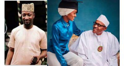 Buhari-Daughter-Hannah-and-okolie